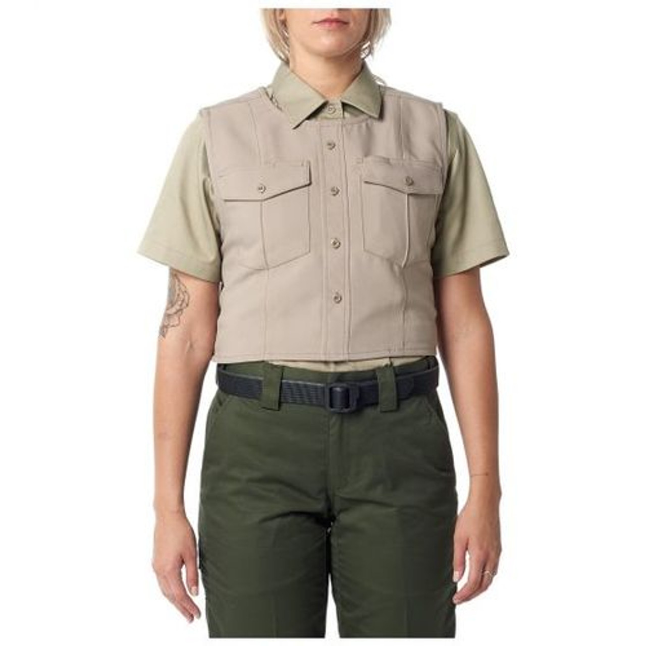 5.11 Tactical Women's Uniform Outer Carrier - Class A, available in Midnight Navy, Silver Tan, or Black 49033