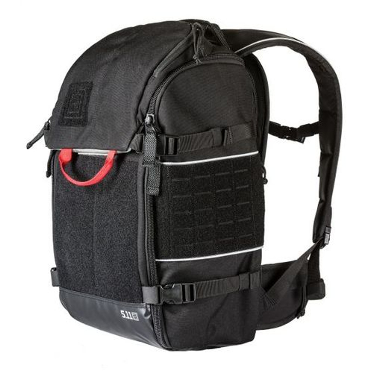 Black Long Zippered Main Compartment 2-Handles Carrying Bag for Metal Detector