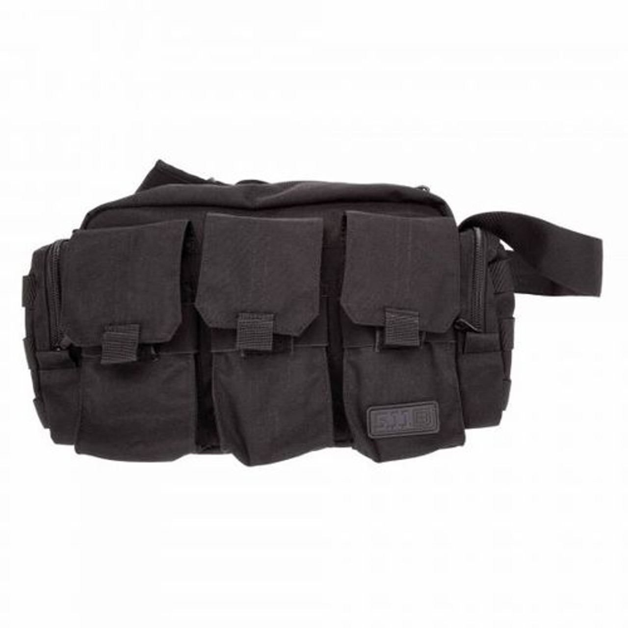 5.11 Tactical BAIL OUT AMMO BAG, Sling Pack, 1050D nylon construction, Adjustable strap with quick-release drop, Internal hook and loop closure for pull-out pouches, 56026