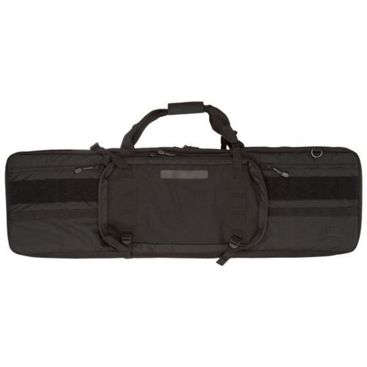 """5.11 Tactical VTAC® MK II 42"""" DOUBLE RIFLE SOFT CASE and carry bag, 1050D nylon exterior, 500D ripstop interior, Integrated padded divider, Compression straps, Fully customizable web and loop platforms, 56222"""