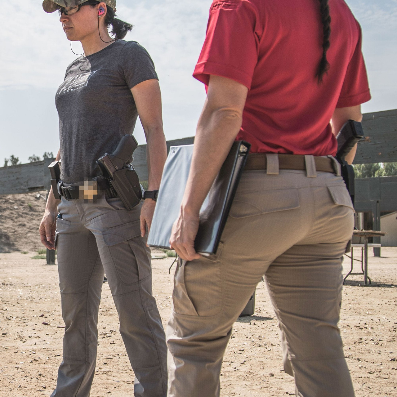 5.11 Tactical 64386 Women's Stryke Cargo Pants, Knee Pad Pockets, available in Black, Khaki, Storm, Burnt, TDU Green, Tundra, or Dark Navy