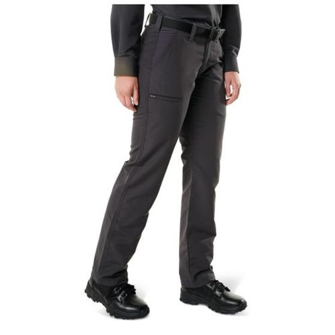 5.11 Tactical 64420 Women's Fast-Tac Urban Tactical Cargo Pants, Water Resistant, Available in Black, Charcoal, Khaki, or Dark Navy