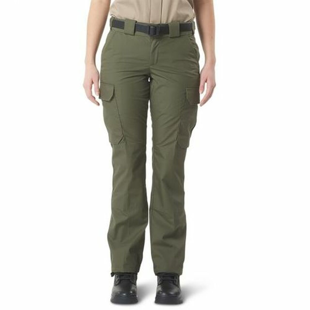 5.11 Tactical 64015US CDCR Women's Uniform Cargo Pants, Slim/Athletic Fit, Polyester/Cotton, Green