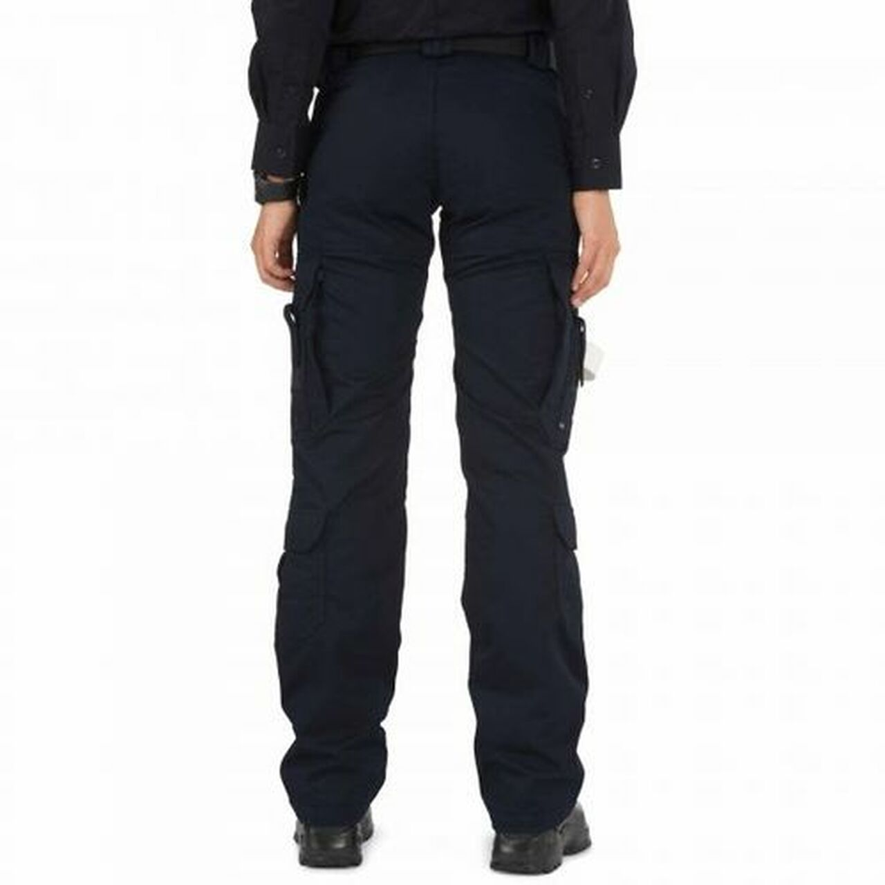 5.11 Tactical 64301 Women's EMS Uniform Cargo Pants, Classic/Straight Fit, Knee Pad Pocket, Polyester/Cotton, Available in Black, or Dark Navy