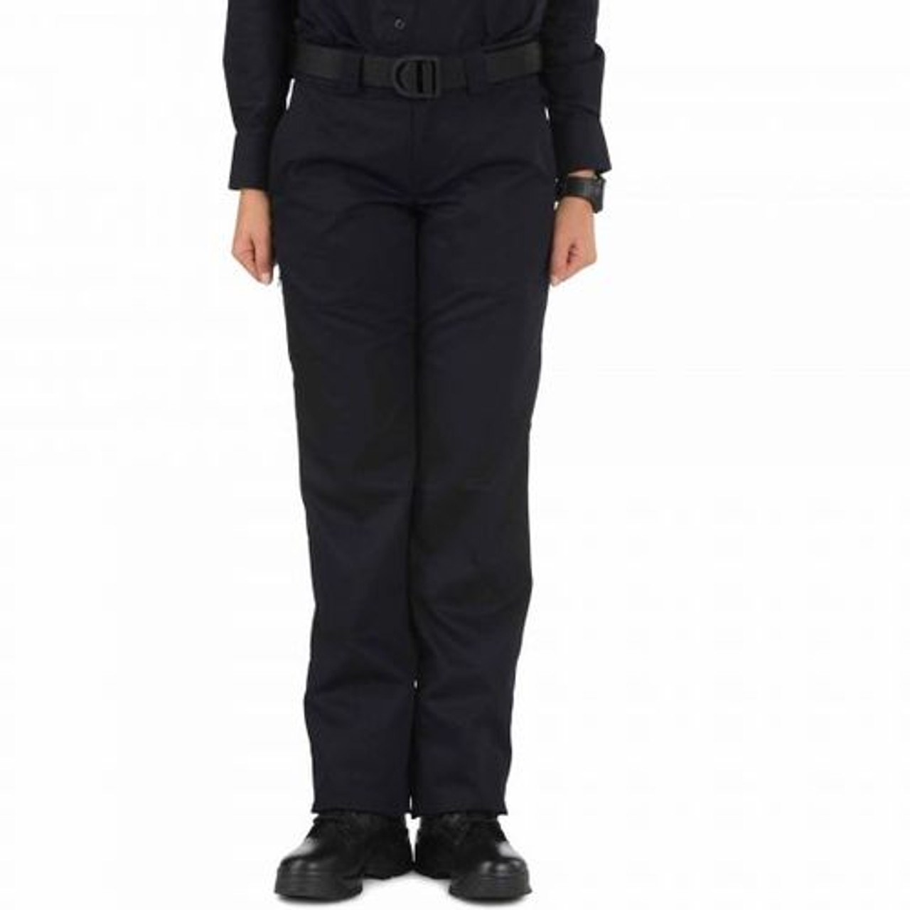 5.11 Tactical 64308W Women's Twill PDU Class-A Uniform Pants, Classic/Straight Fit, Polyester/Cotton, Navy
