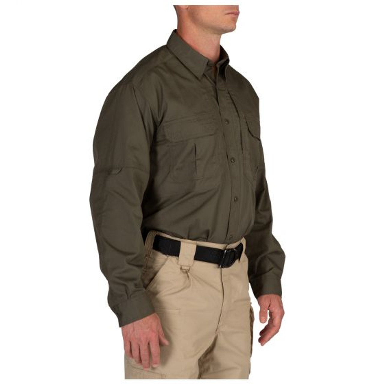 5.11 Tactical 72175 TacLite Pro Long Sleeve, Casual Button-Down Shirt, Polyester/Cotton, with 2 Chest Pockets
