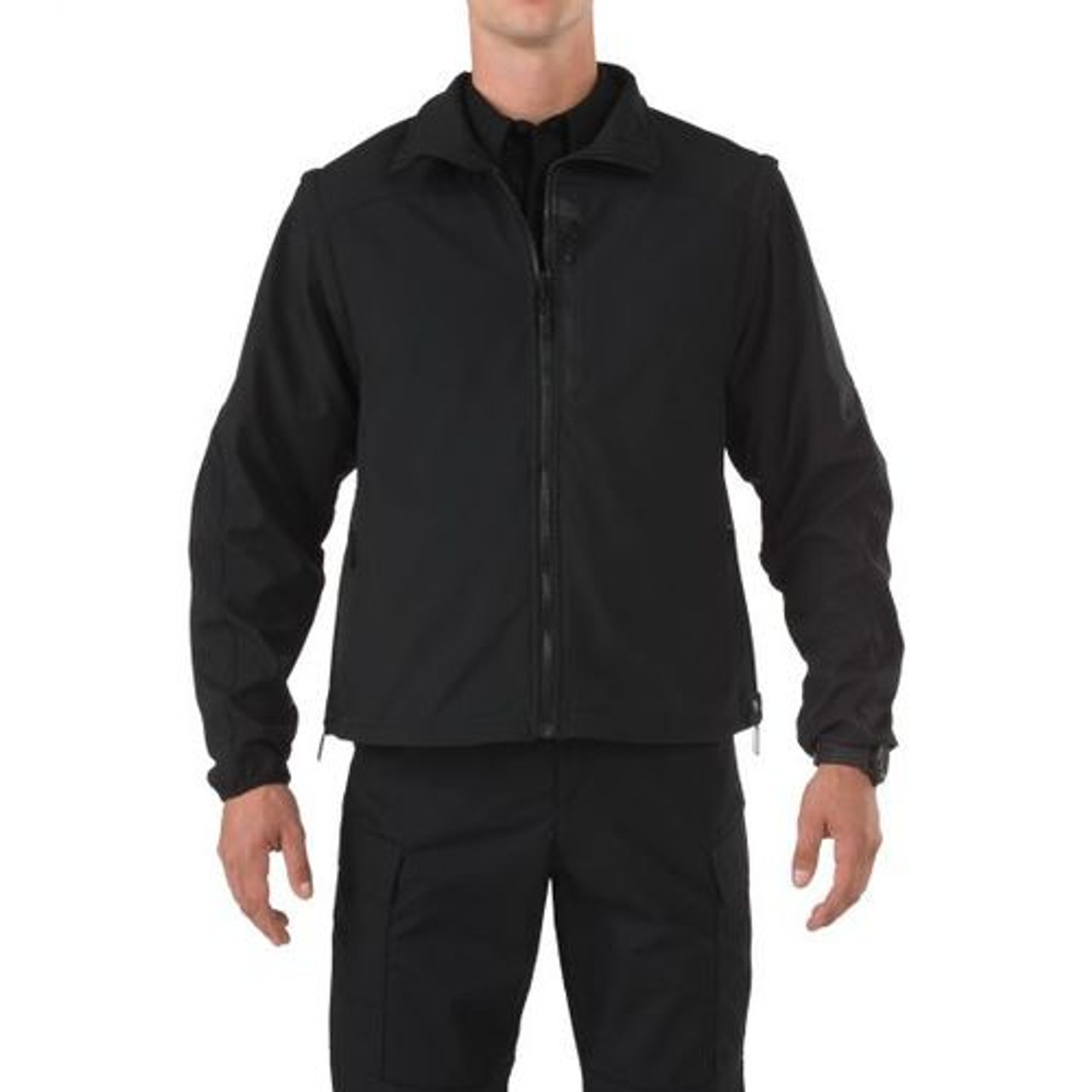 5.11 Tactical 48153 VALIANT, Uniform or Casual Jacket, 5-in-1, Roll-Up Hood, Adjustable Cuffs