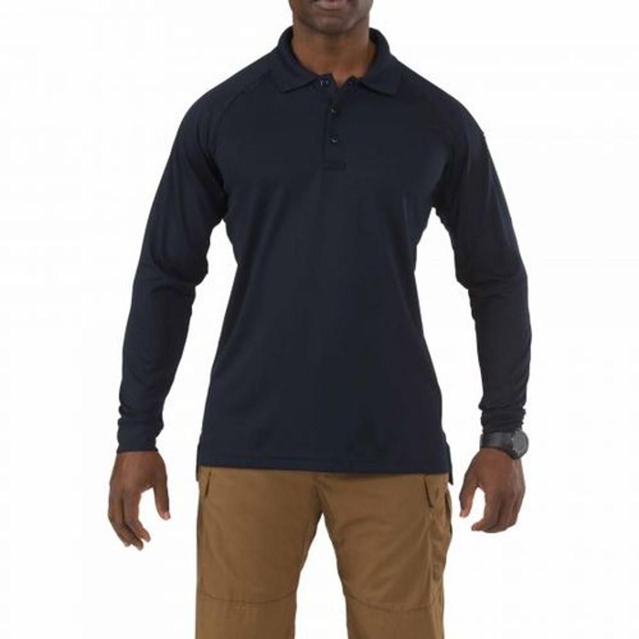 5.11 Tactical 72049, Men's Performance, Long Sleeve Uniform or Casual Polo Shirt