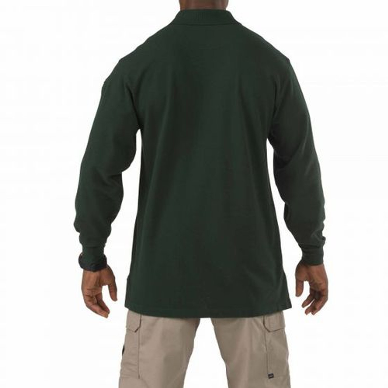 5.11 Tactical 42056 Men's Professional, Long Sleeve Casual or Uniform Polo Shirt, Cotton