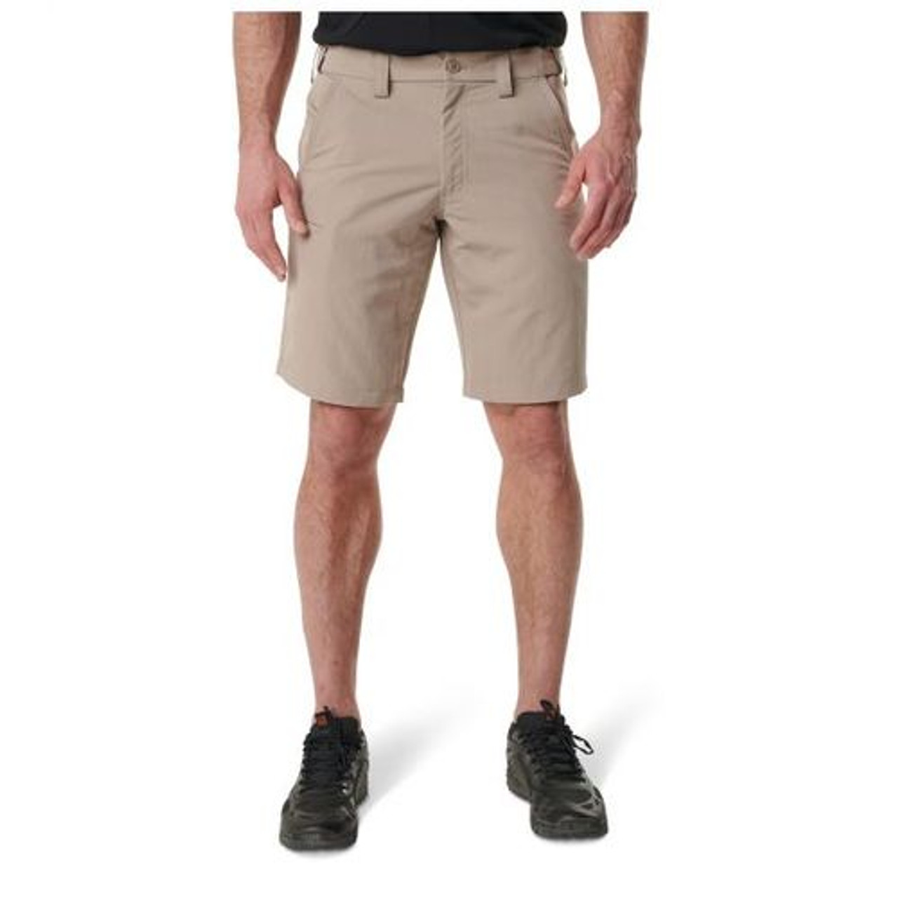5.11 Tactical 73342 MEN'S FAST-TAC™ URBAN SHORTS, 100% polyester with Water-resistant finish, Utility pocket, Self-adjusting tunnel waistband