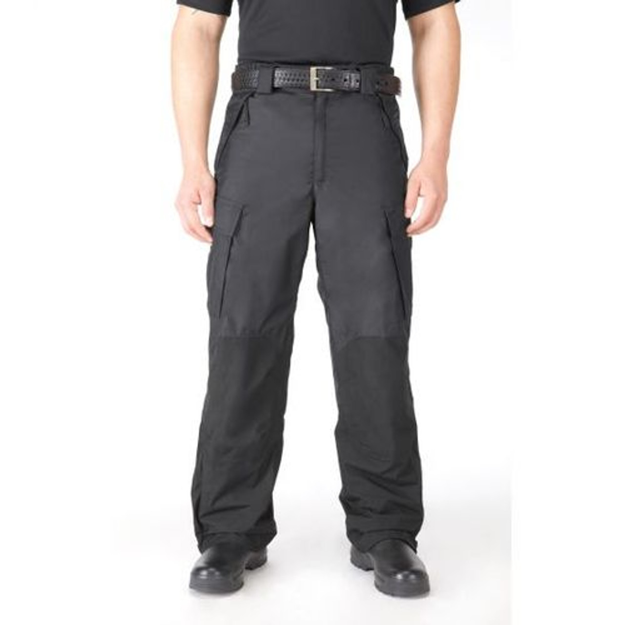 5.11 Tactical 48057 Men's Waterproof Packable Patrol Uniform Pants, Relaxed Fit, Cargo, Ideal for Working in Inclement Weather, available in Black