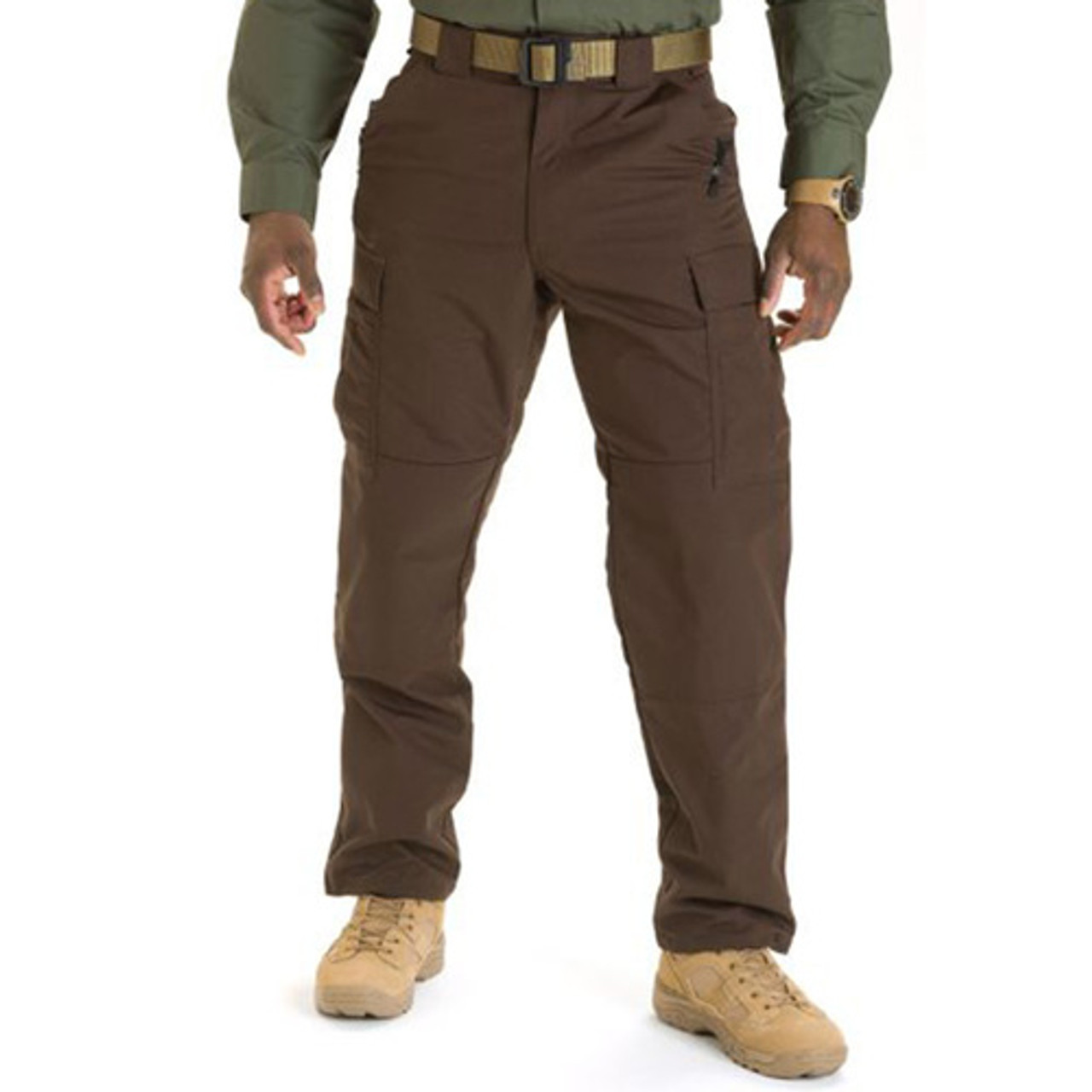 5.11 Tactical 74003 TDU®  Men's Pants, High-performance, Adjustable Waistband, Classic/Straight, Ammo Pockets, Uniform/Cargo, Polyester/Cotton, Lightweight, available in Black, Brown, TDU Khaki, TDU Green, Dark Navy