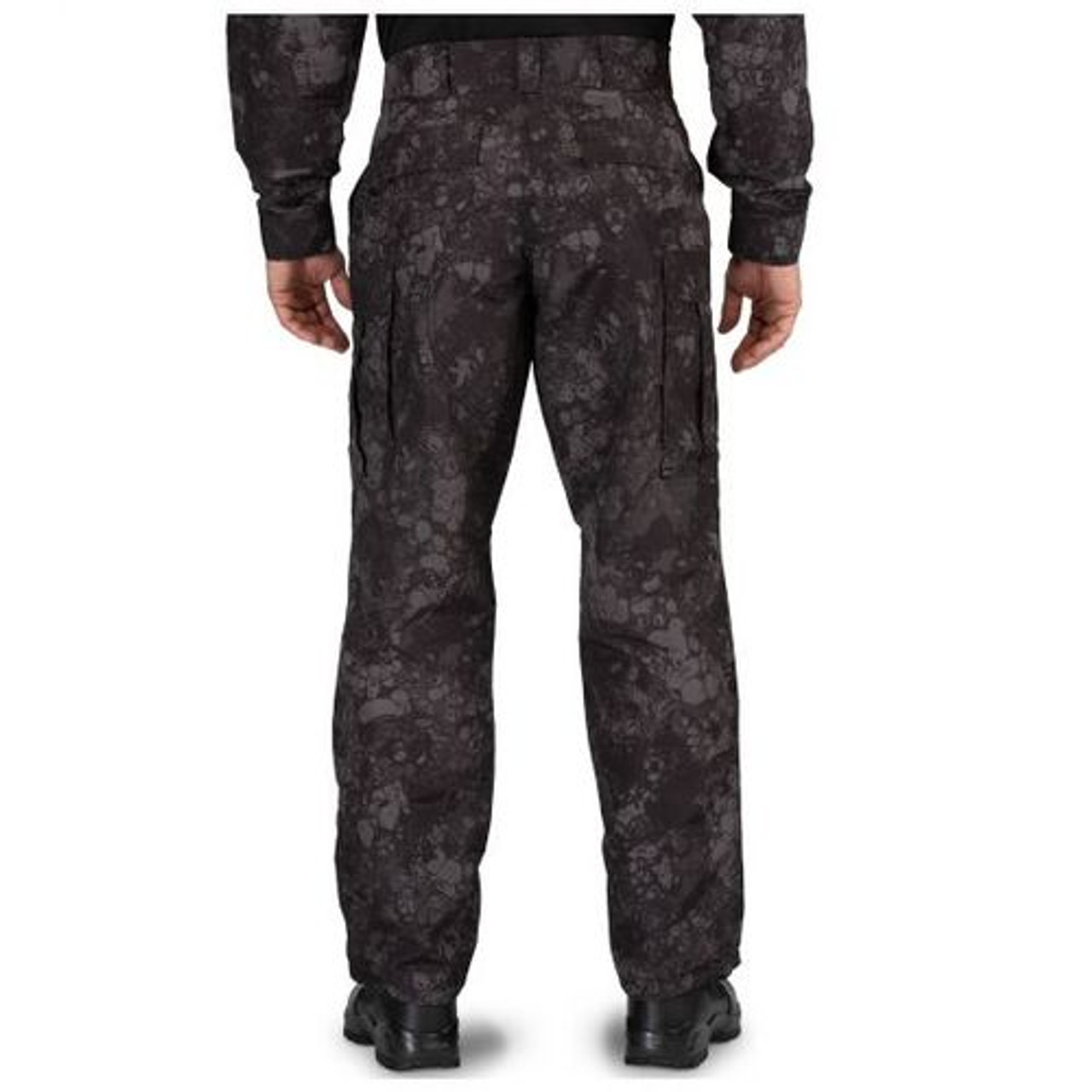 5.11 Tactical 74462G7 MEN'S GEO7™ FAST-TAC™ TDU® PANTS, 100% polyester, Water resistant finish, 9 pockets, Classic/Straight, Flexible, Uniform/Cargo, self-adjusting waistband with 7 loops, Nylon reinforcement on back magazine and front utility pocket