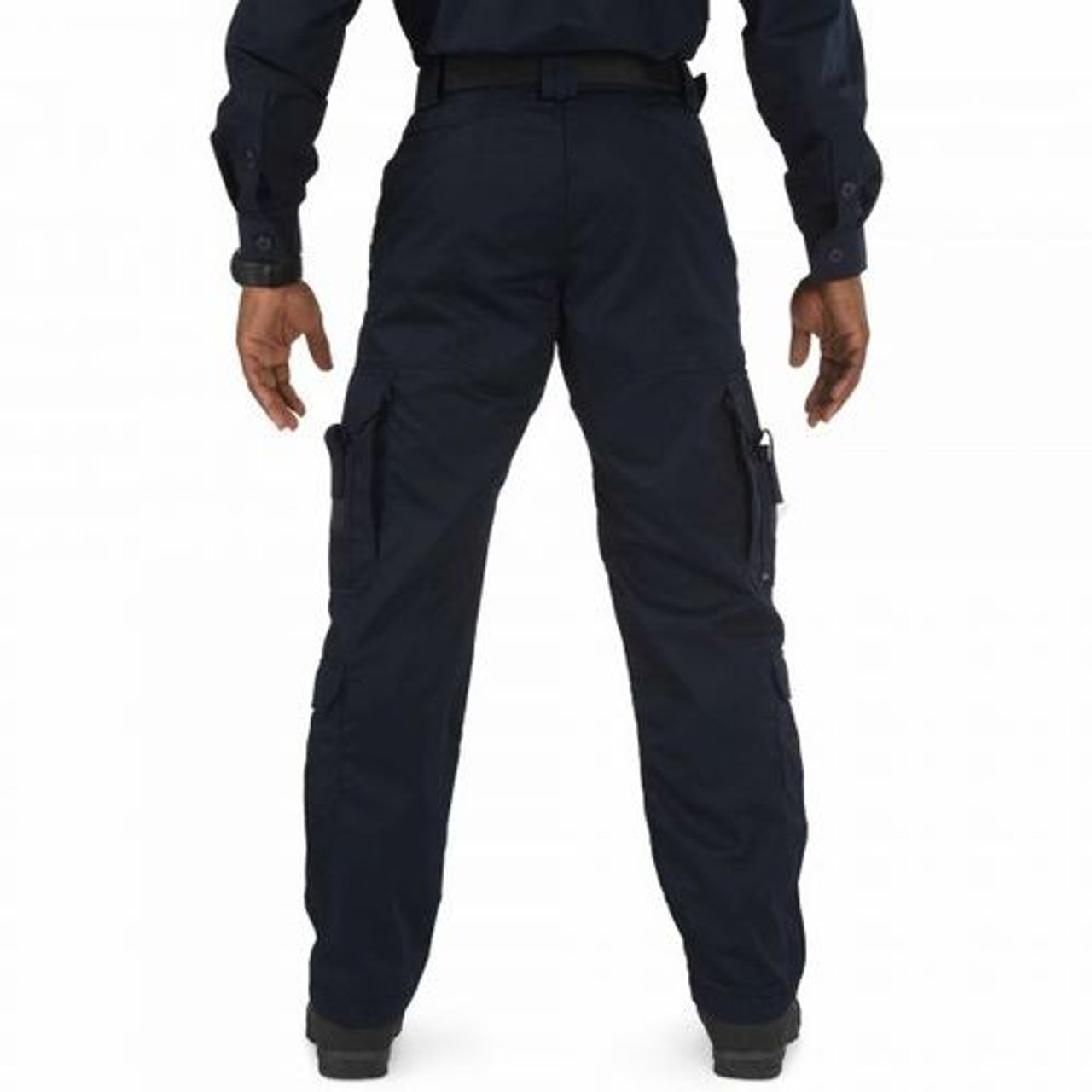 5.11 Tactical 74310 MEN'S EMS PANTS, polyester/cotton, Uniform/Cargo, Classic/Straight, Teflon® finish for stain and soil resistance, Adjustable Waistband, compartmentalized cargo pockets and secondary cargo pockets at the calf