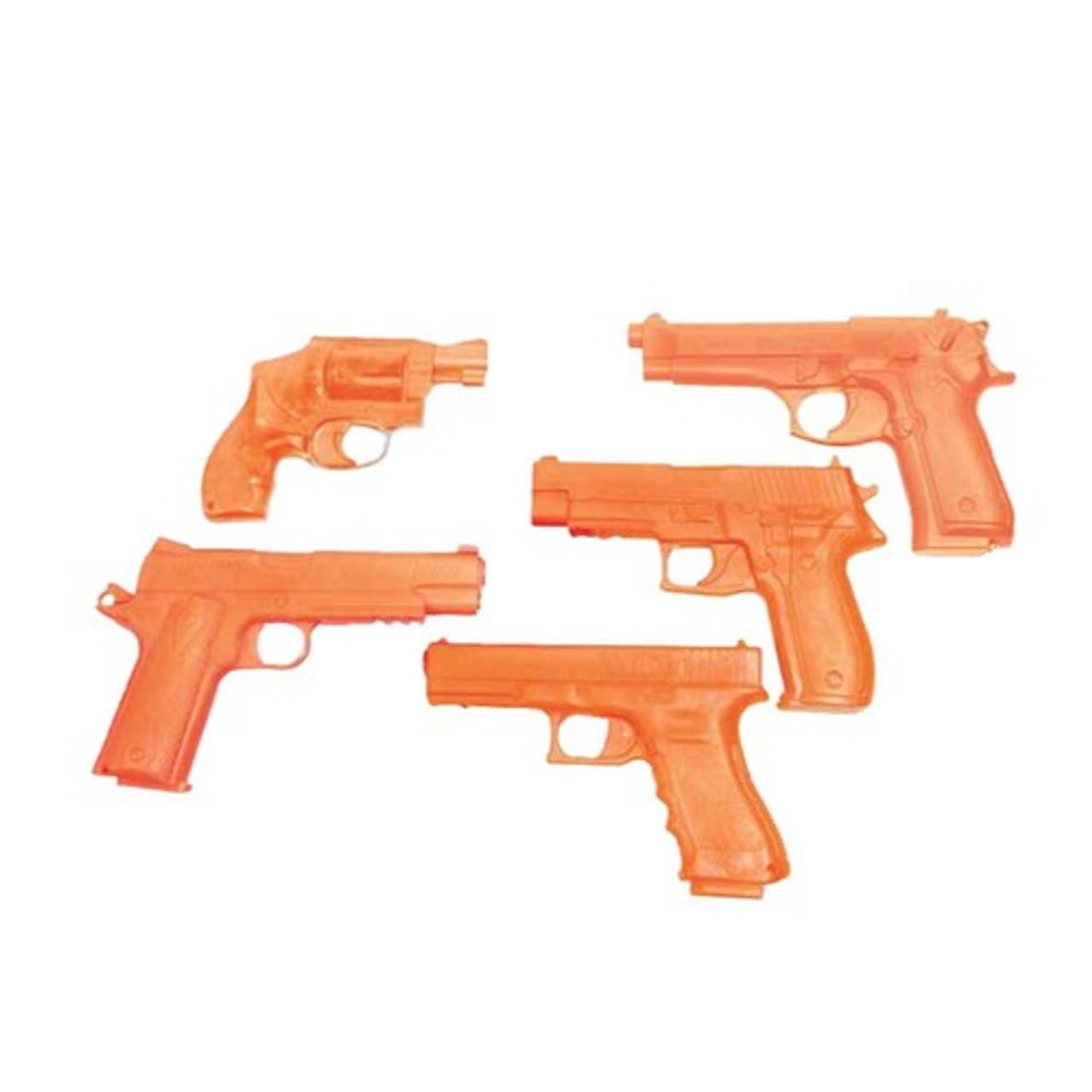 BLACKHAWK 44DG DEMONSTRATOR REPLICA GUNS, Exact size of real pistol,  Injection-molded high-strength, glass-filled polymer, Bright Orange