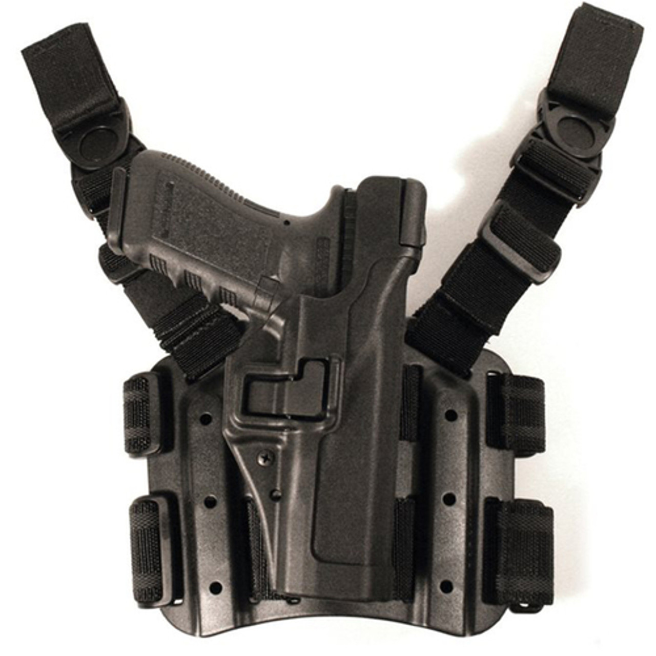 Blackhawk! 4306 SERPA® Level 3 Tactical Holster, available in Black and Foliage Green