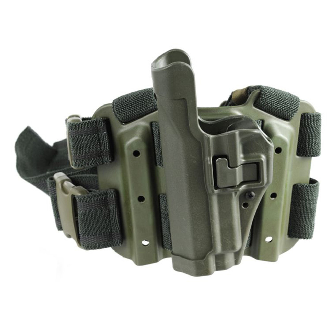 Blackhawk 4305 SERPA® Level 2 Tactical Holster, available in Black, Coyote Tan, Foliage Green, and Olive Drab