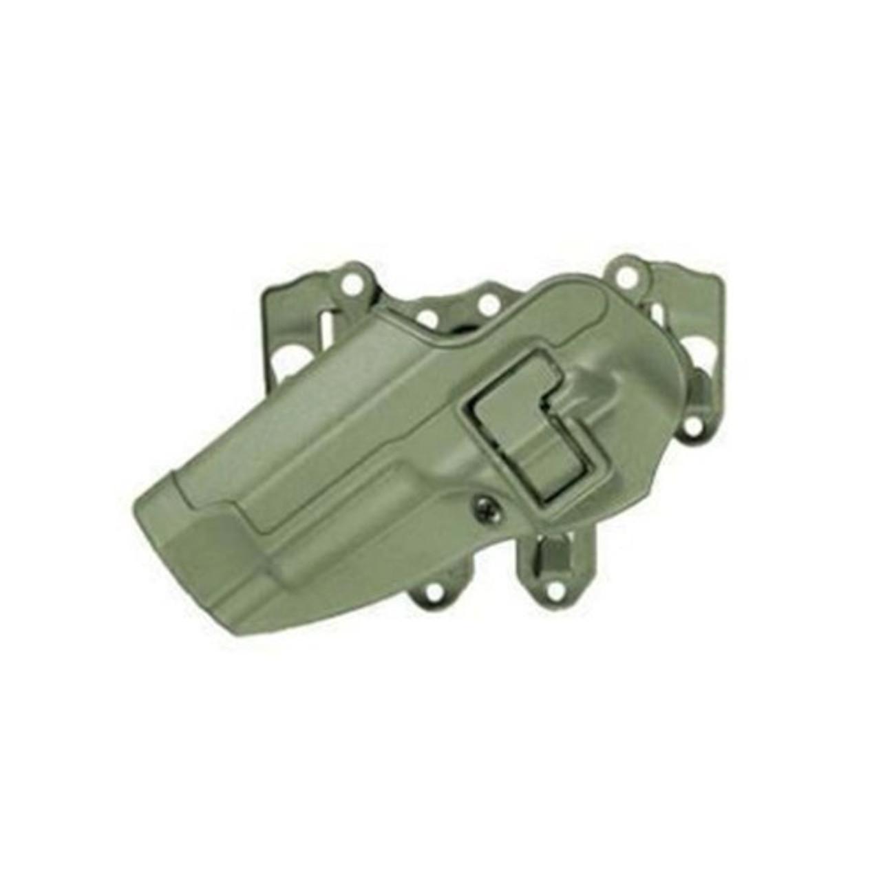 BLACKHAWK 40CL01OD S.T.R.I.K.E.® PLATFORM WITH SERPA® HOLSTER, BERETTA ONLY, Ambidextrous adapter platform, Olive Drab