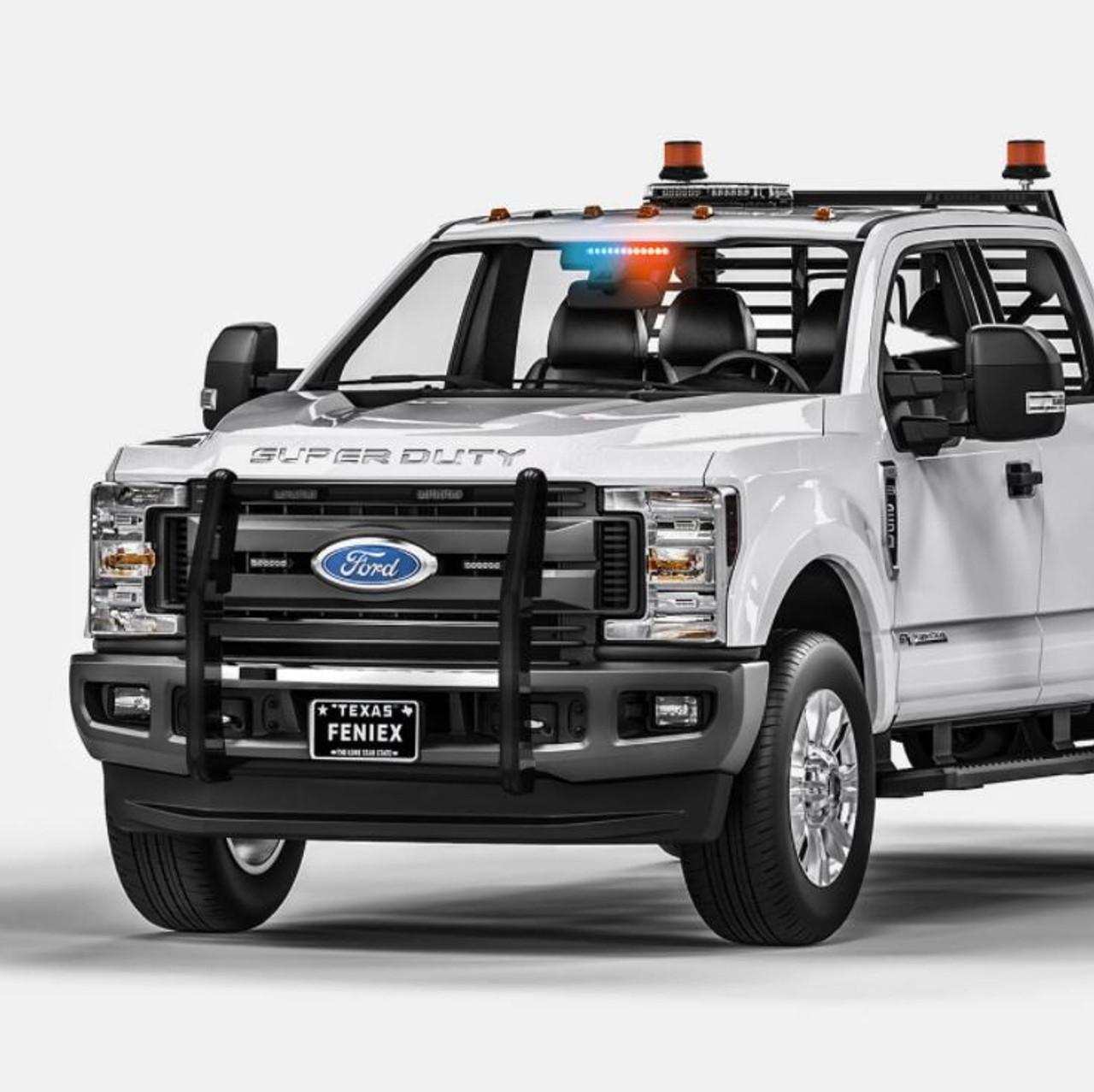 Feniex QUAD 1X Dash Light Warning & Emergency Lights Motors ...