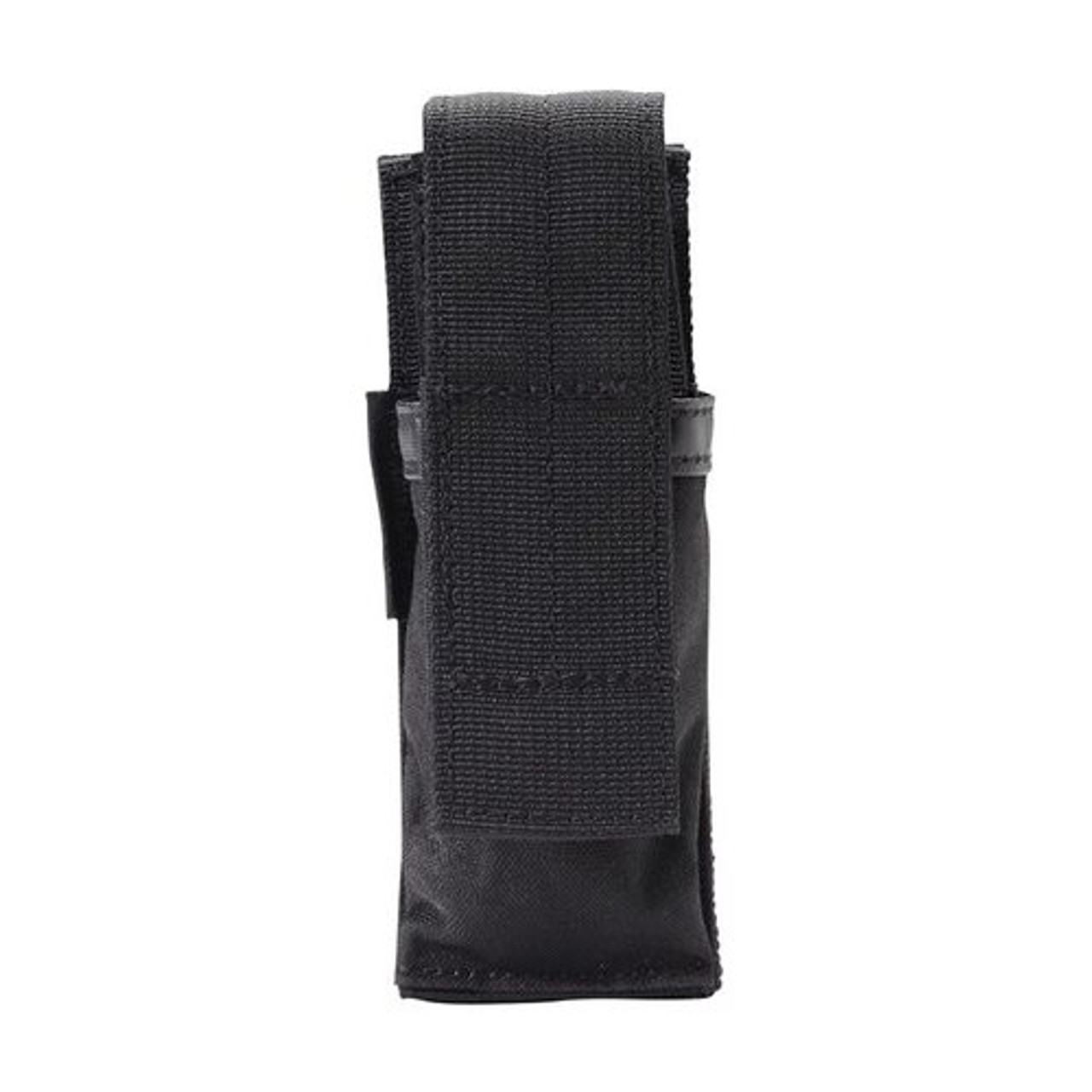 Triple Pistol Mag Pouch Durable Nylon with Hook /& Loop Closure Gray