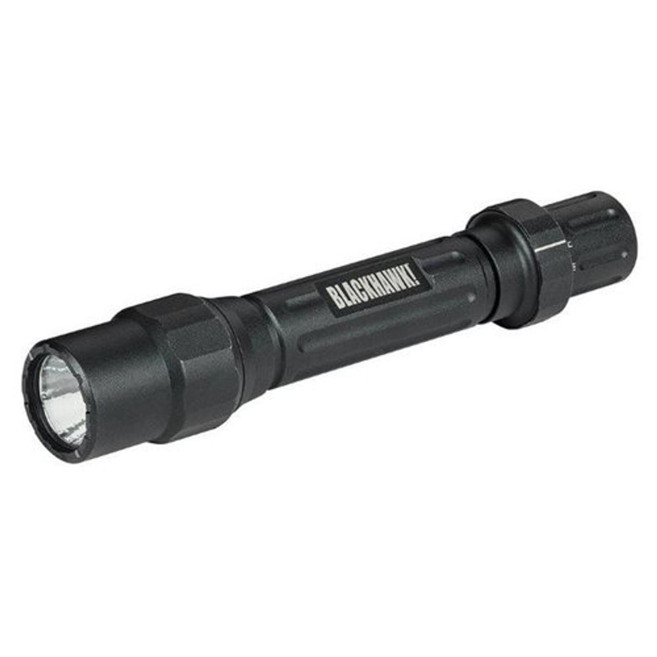 Blackhawk! 75FL026BK Night-Ops® Legacy Tactical Handheld Flashlight L-A2, Aluminum Body, High-Output CREE® XP-G LED Bulb