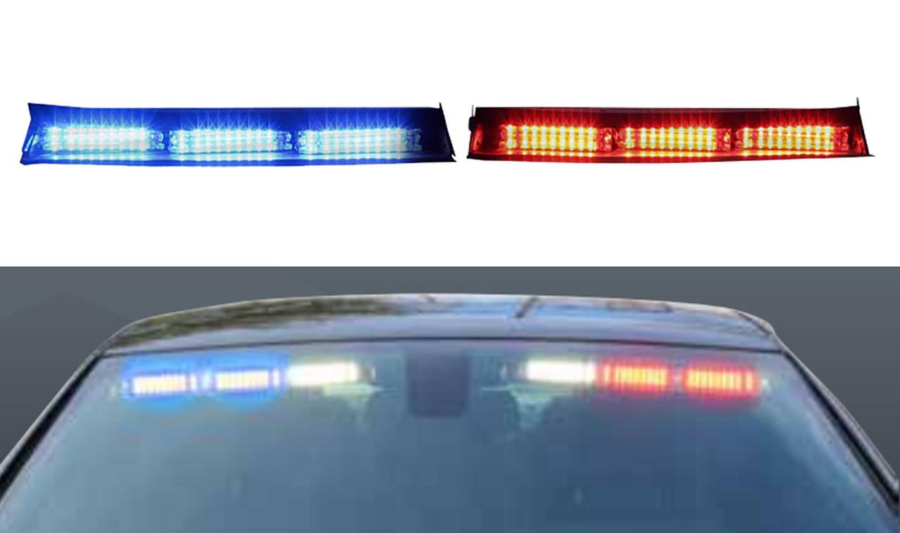 Code 3 Supervisor Flex 2015 2019 Chevy Tahoe Interior Led Light Bar 9 Leds Per Head Front Facing Single Color