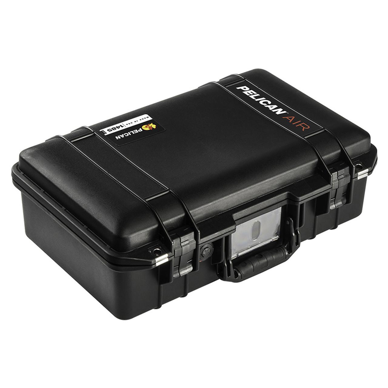 Black /& Yellow Pelican 1485 Air case with Trekpak dividers.