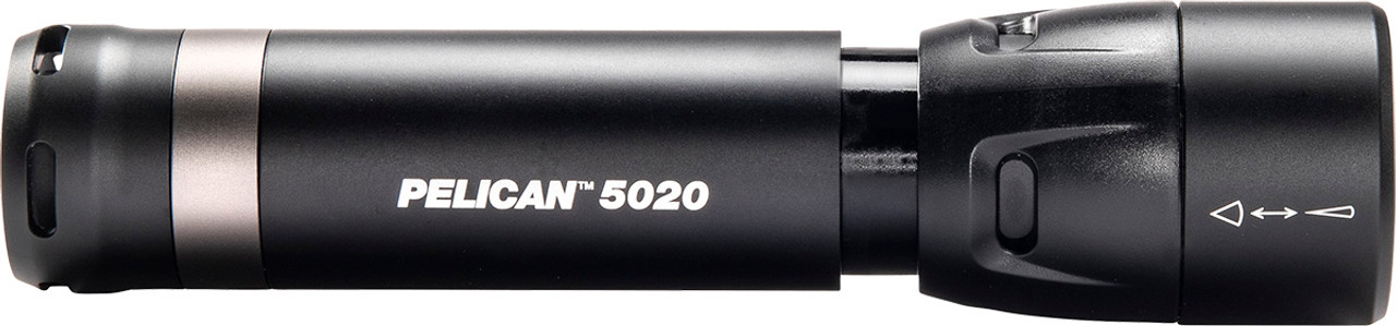 Pelican LED Flashlight, With 4 modes High / Medium / Low / Flashing, 586 Lumens, Black 5020