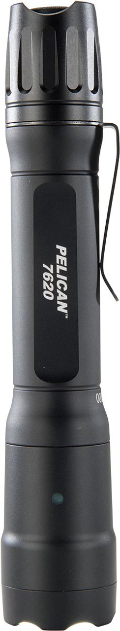 Pelican Tactical LED Flashlight, With Four programmable modes High / Strobe / Medium / Low, 1124 lumens, Black 7620