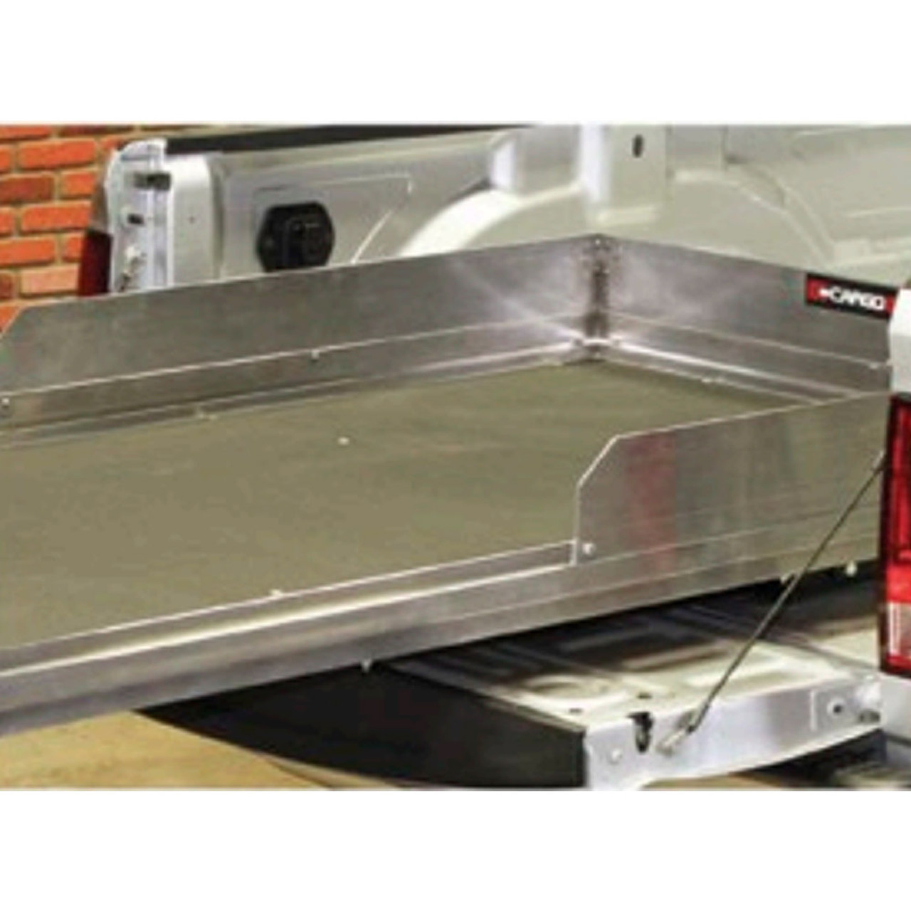 "Cargo-Glide CGHS 8"" High-Sides, 48""Long, choose Powder Coated Black or  Aluminum, Standard Kit"