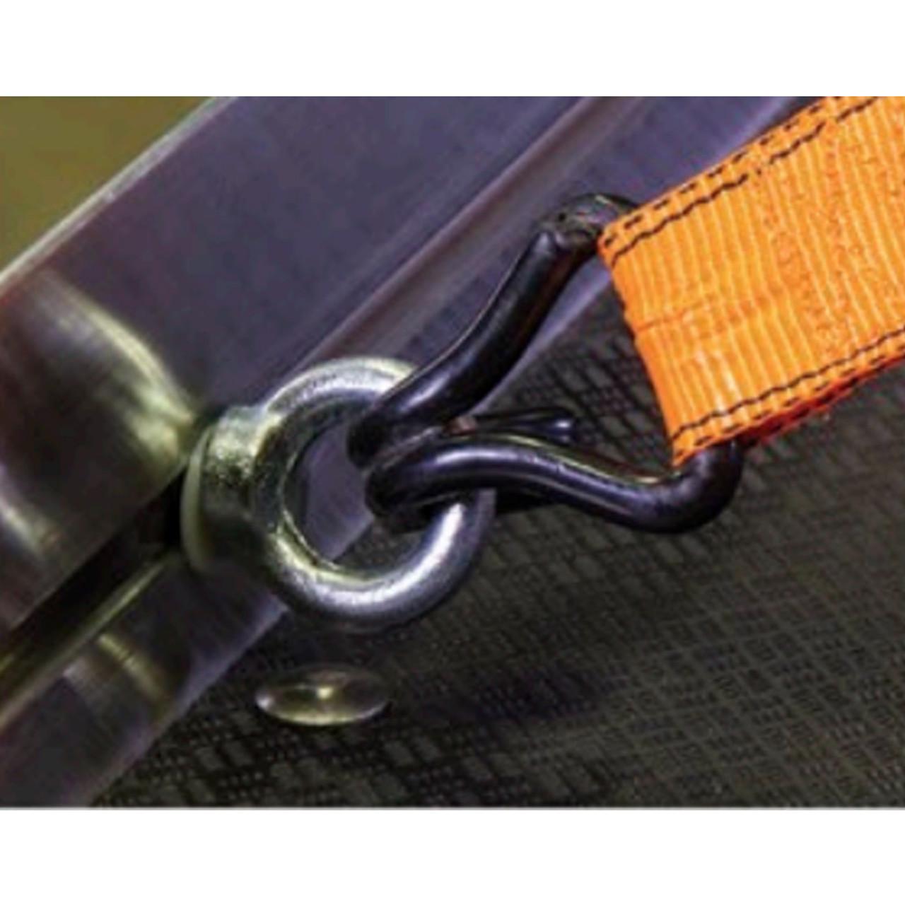 Cargo-Glide CGCTTD-4  CargoTrack - Adjustable Sliding Tie Down EyeBolt Attachments (Set of 4)