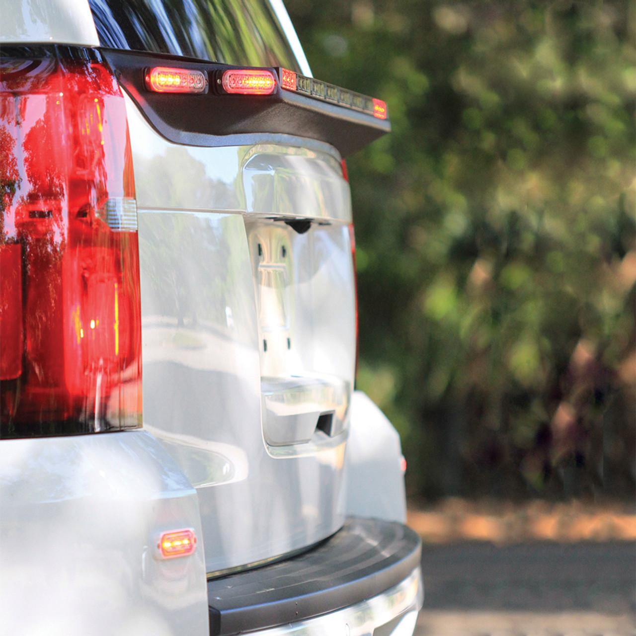 Brooking Industries HZNS Horizon Traffic Advisor / Warning Stick, Choose 2, 4, 6, 8 or 10 Lightheads Per Stick, Single Color