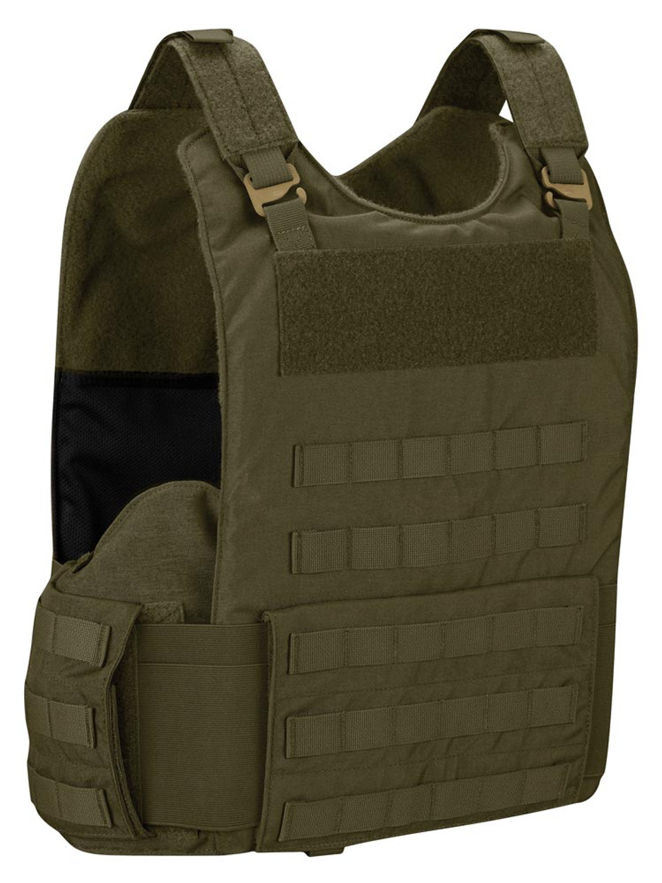 Propper® 4PV-TAC Men's Four Piece Tactical Exterior Bulletproof Soft Body Armor Vests - Choose Vest only or Vest and Plates - NIJ Certified Level 2 or Level 3A Threat Inserts - Exterior application with MOLLE attachment points for customization