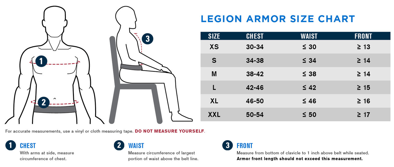 Propper® Legion Tactical Bulletproof Exterior Soft Body Armor Vest - Choose Vest only or Vest and Plates - NIJ Certified Level 2 or Level 3A Threat Inserts - Compatible with Kangaroo pouches / 360° MOLLE attachment points, available in S-2XL
