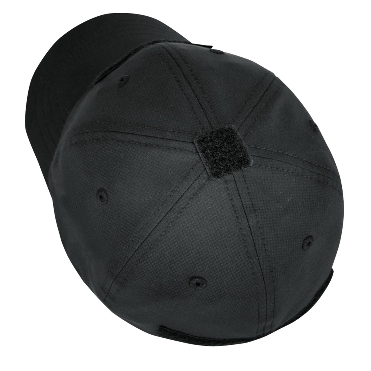Condor Outdoor 161204 Cool Mesh Tactical Cap, Stretchable performance sweatband, Black