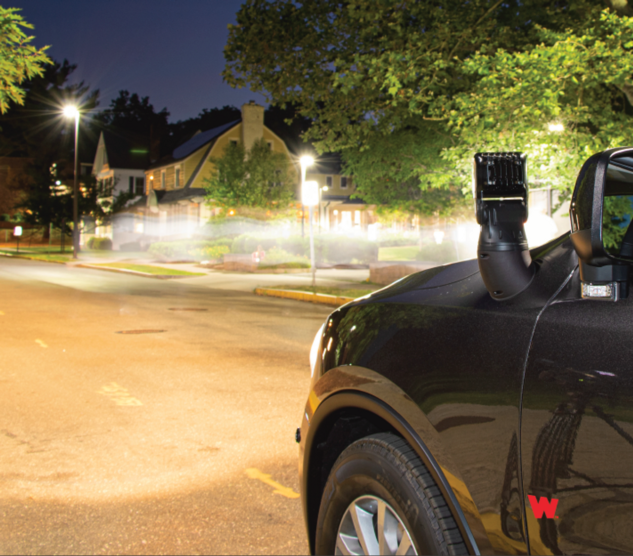 Whelen Arges™ Series Super-LED® 360° Remote Control Spotlight, Chevy Tahoe 2015-2020, 360º continuous rotation with 180º tilt range, 3 button Control Head Included