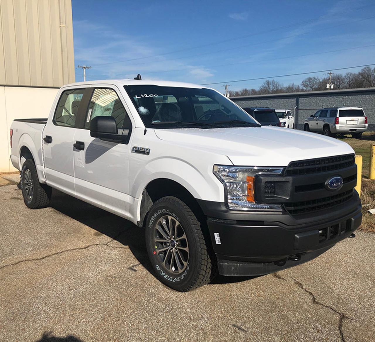 New 2020 White Ford F-150 Responder Police Package 4x4 PPV Ecoboost ready to be built as an Admin Package, choose any color LED Lights, + Delivery