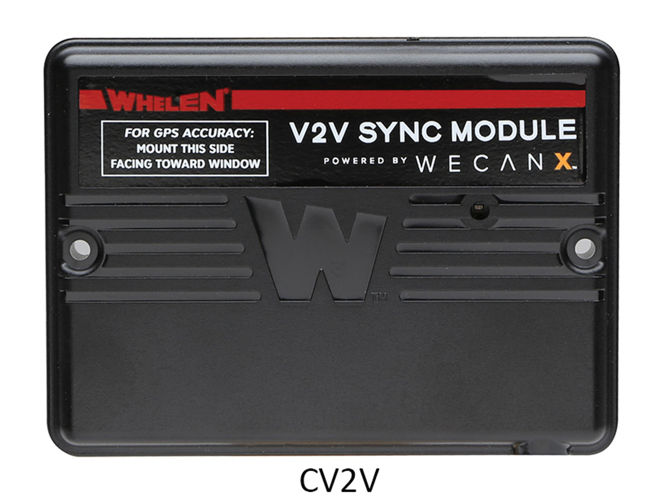 Whelen Cencom Core WeCanX Police-Fire Siren C399, CCTL5 Hand-Held Light Controller, and C399K* CANport OBDII Interface, Optional Vehicle-to-Vehicle Sync Module