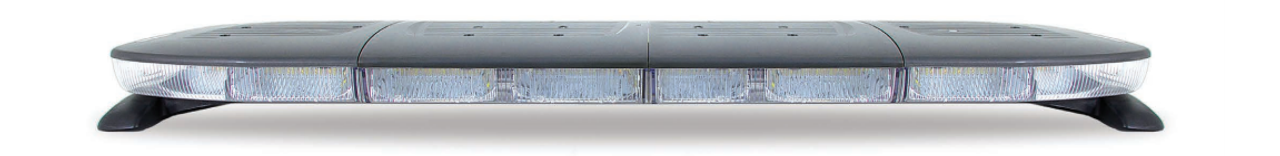Soundoff nROADS LED Light Bar ENRLB, Dual Color, 2-colors per head, 48 or 54 inches, Pre-Programmed Plug-N-Play, includes Handheld Controller, available in Amber, Blue, Red, Green, White, No Alleys, Optional 4-inch mPOWER Light Heads
