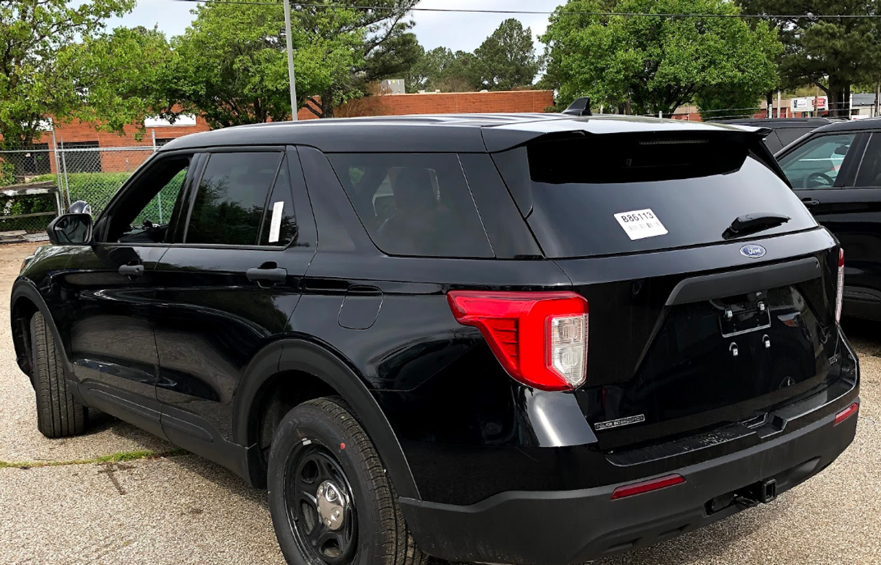 New Black 2020 Ford (Explorer) Police Interceptor PI Utility V6 Gas Engine AWD For Sale, Ready to be Built as a Slick-Top Admin Pkg, Turnkey Package FPIU + Delivery