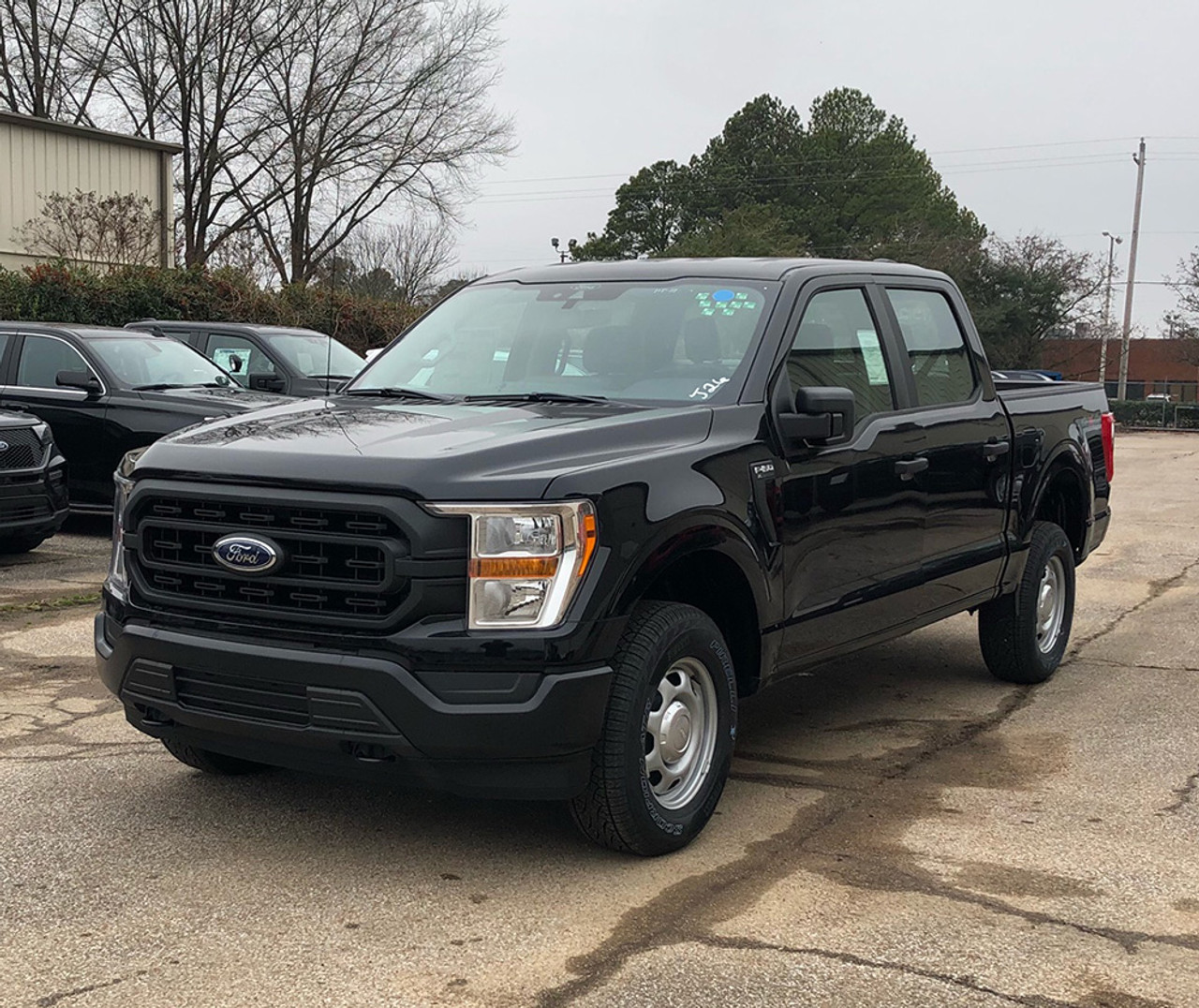 New 2021 Ford F-150 Black 4x4 SSV V6 Special Service Truck, ready to be built as an Admin Package, Slick-Top, choose any color LED Lights, + Delivery