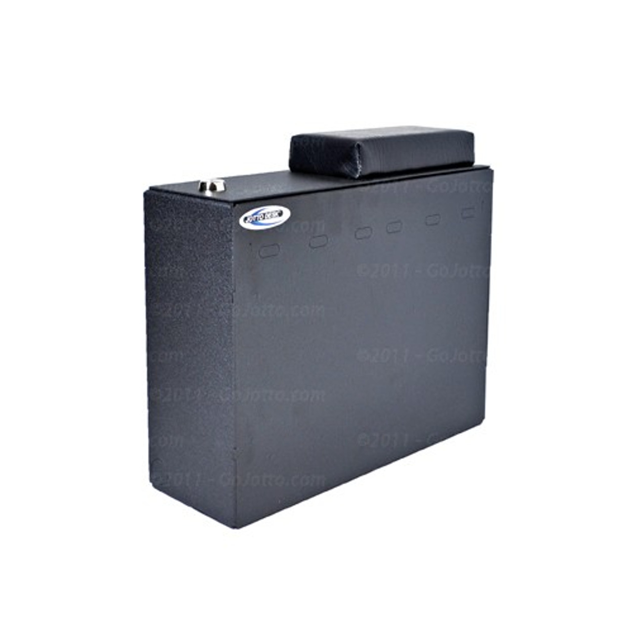 Hanging File Box With Lid And Arm Rest by Jotto Desk