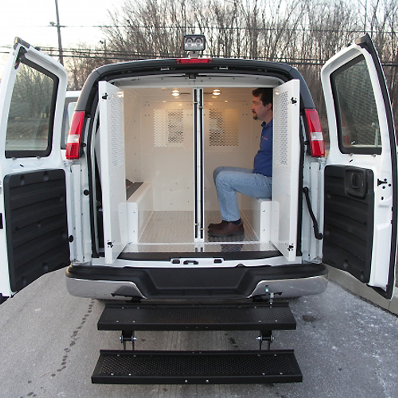 Prisoner Transport Van >> Van Police Prisoner Transport Insert 3 Door 100 Inch By Havis
