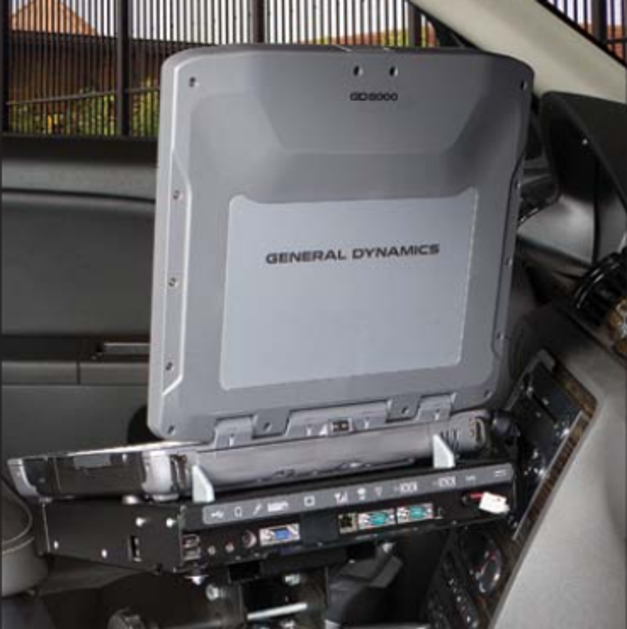 General Dynamics GD8000 Laptop Computer Docking Station