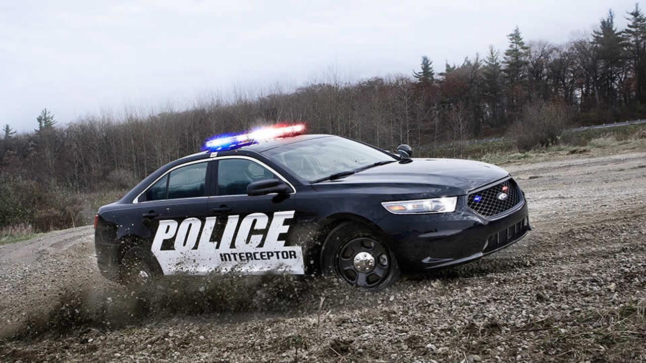 Interceptor Sedan Taurus Police Vehicle Graphics Decal Kit FS-9