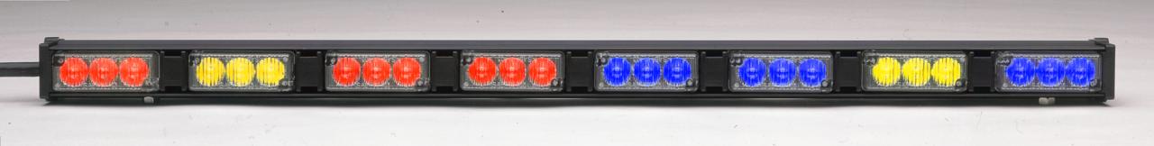 Whelen Dominator D8 Eight LED Light Head Stick