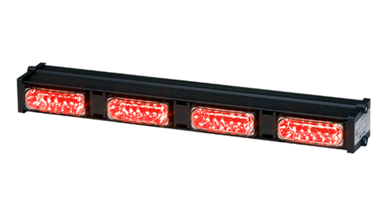 Whelen Dominator Plus DP4 LED Light Stick with Four LINZ6s