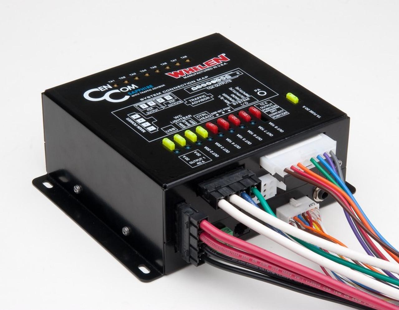 Whelen CenCom Sapphire Siren and Light Controller CCSRN3