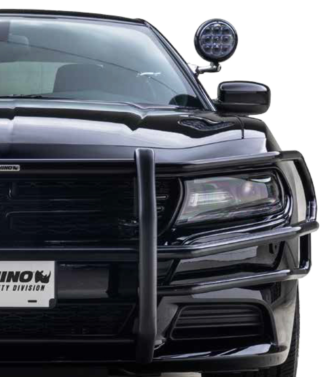Go Rhino Dodge Charger Push Bumper With Heavy Duty Wrap 2011 2020
