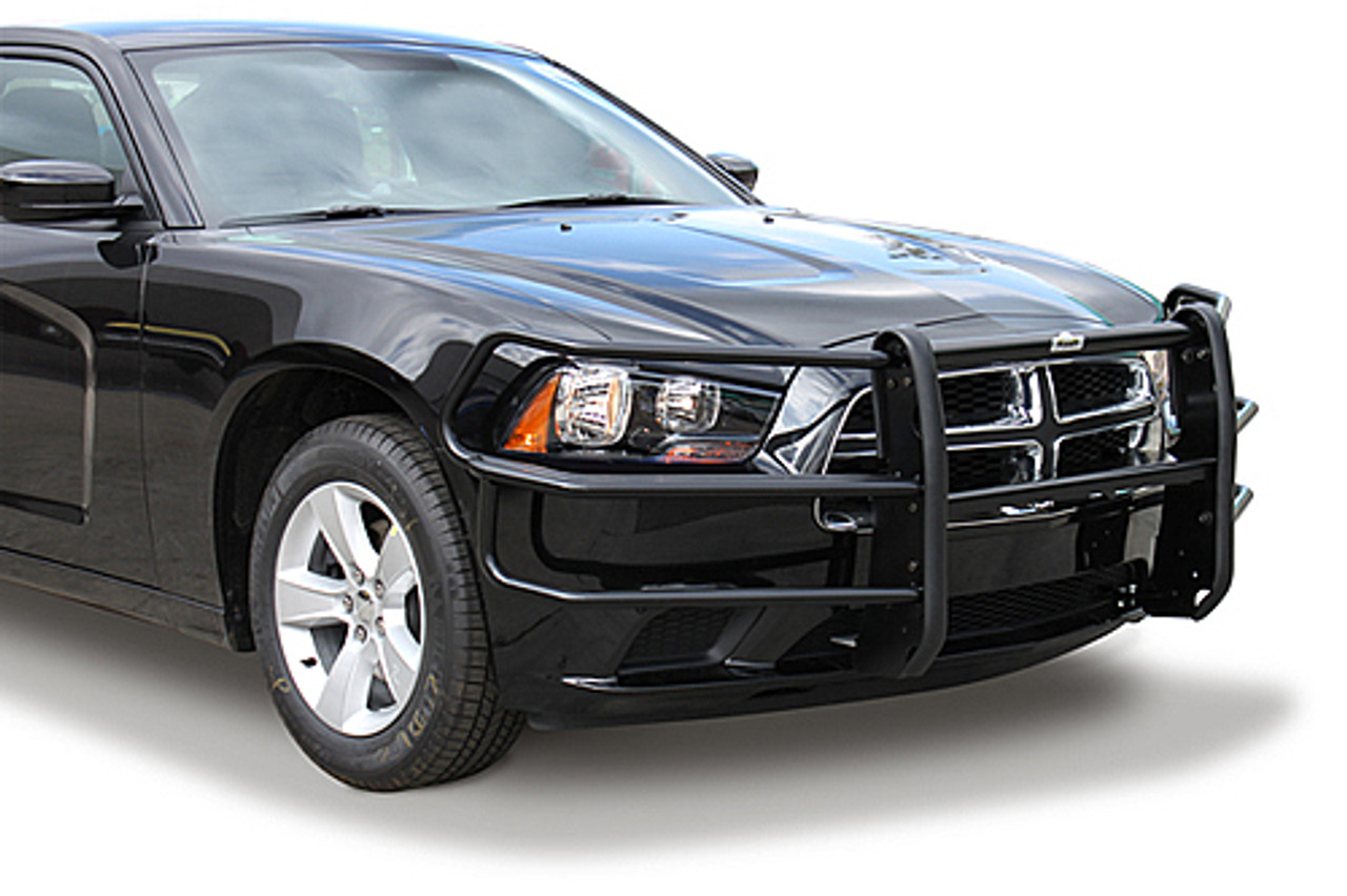 Go Rhino Dodge Charger Push Bumper With Heavy Duty Wrap